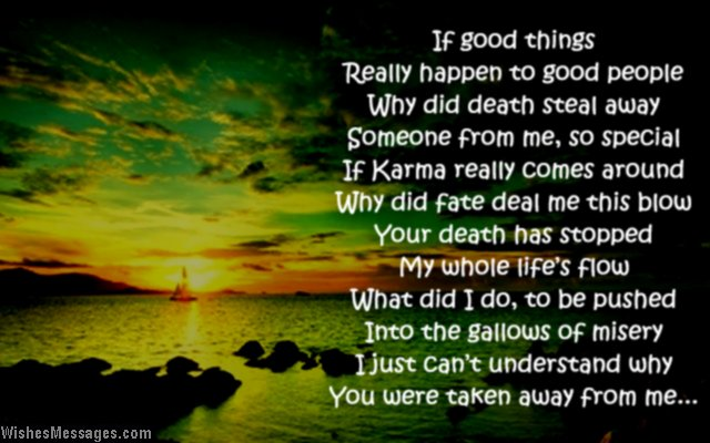 Death missing you poem for dad who passed away