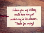 Thank You Messages for Coming to a Birthday Party: Quotes and Notes