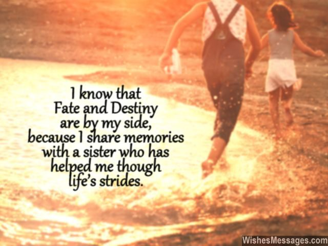 Love You Sister Quotes Interesting I Love You Messages For Sister Quotes  Wishesmessages