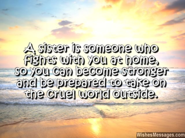 I Love You Messages For Sister: Quotes