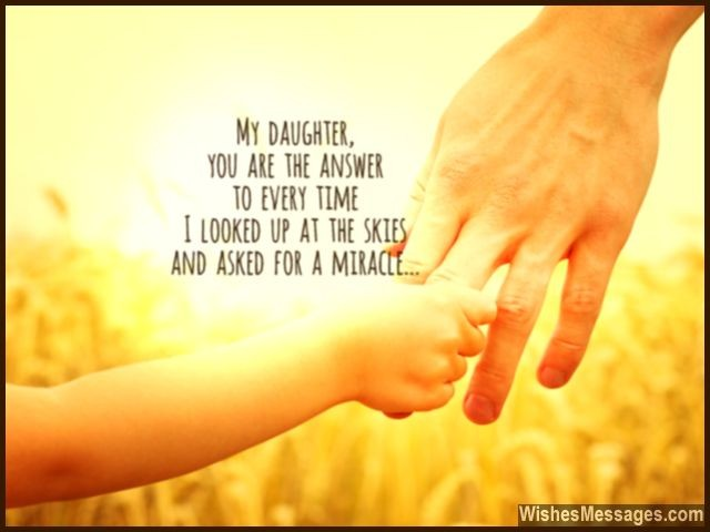 I Love You Messages For Daughter Quotes Wishesmessagescom