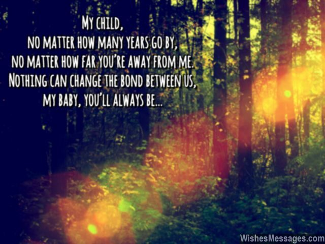You will always be my little boy girl quote for child