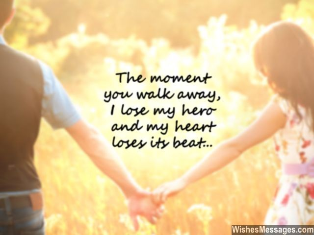I Miss You Messages For Husband: Missing You Quotes For