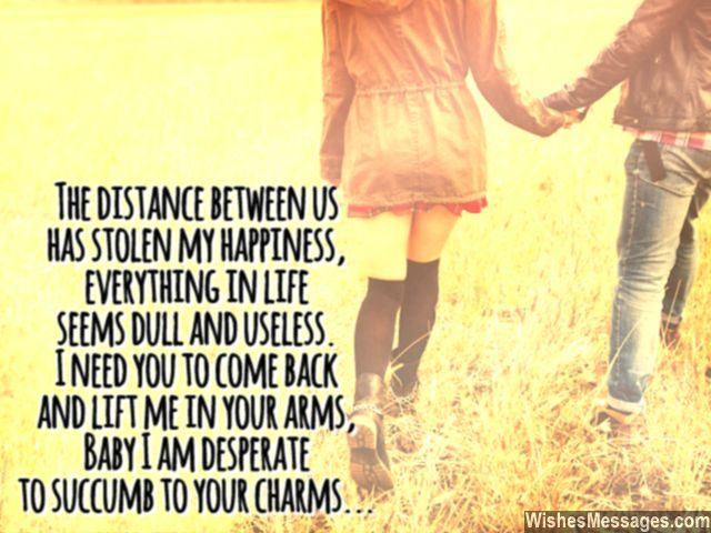 100 Cute 'I Miss You' Quotes for Him & Her with Images ... |I Miss You Baby Quotes For Him