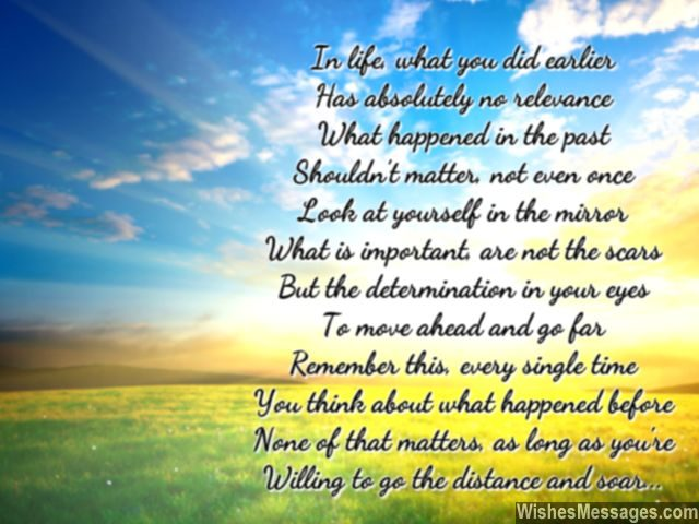 Beautiful poem scars in life determination to be successful