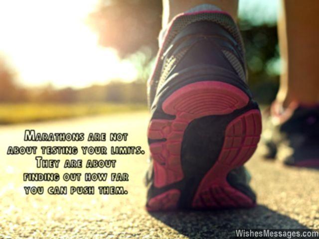 How far can you push your limits marathon quote motivational