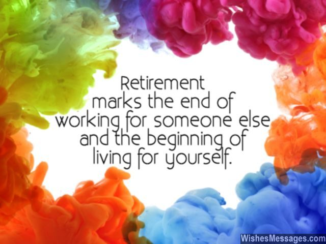 Retirement wishes for colleagues quotes and messages retirement card message to wish someone a happy retired life m4hsunfo