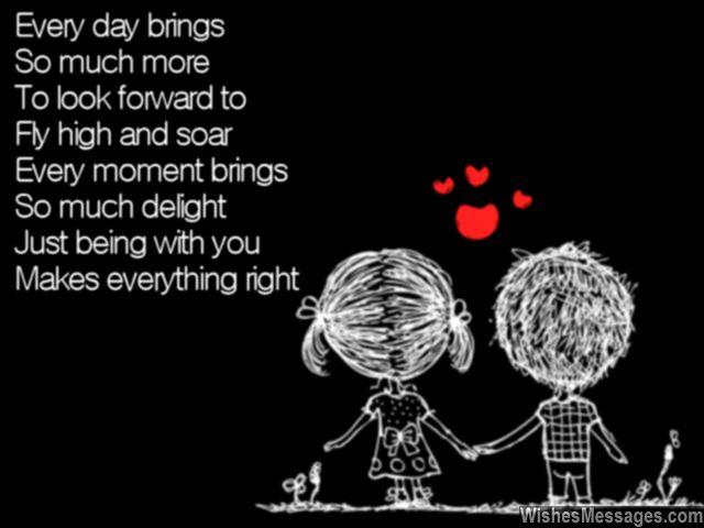 Romantic good morning poem from boyfriend