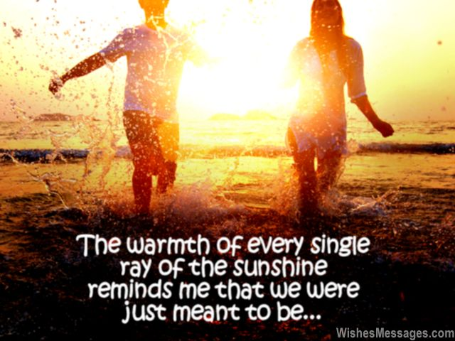 Sweet good morning message for boyfriend and girlfriend