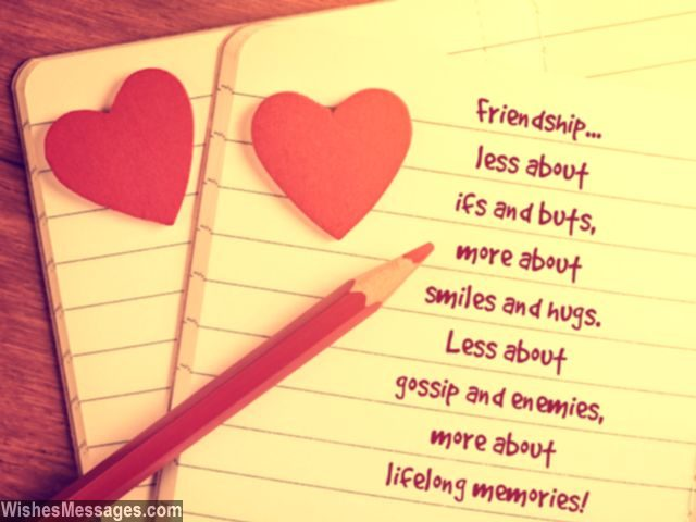 Cute friendship quotes smiles meories hugs gossip forever