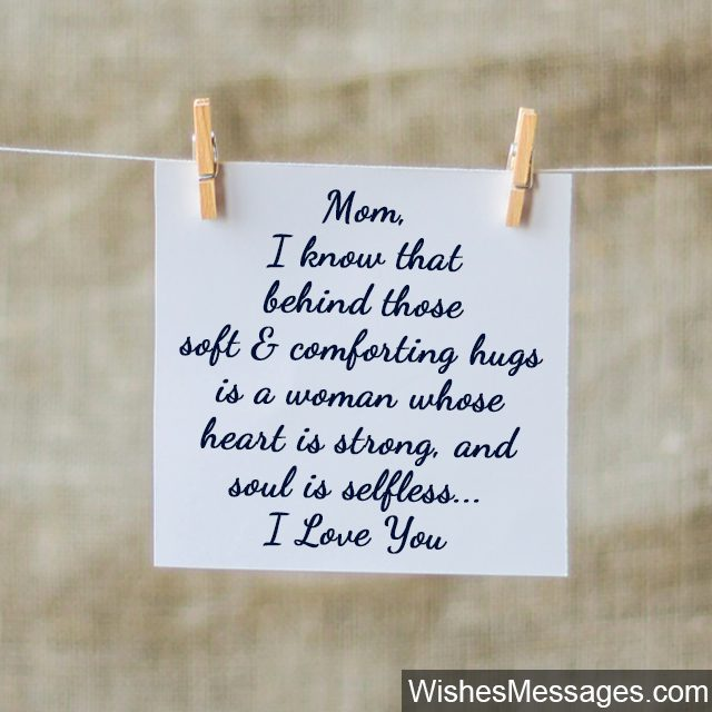 Strong Mother Quotes: I Love You Messages For Mom: Quotes
