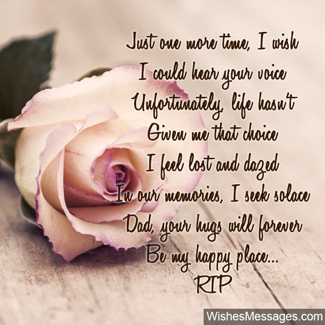 Rip Poems For Dad Funeral Poems For A Fathers Death