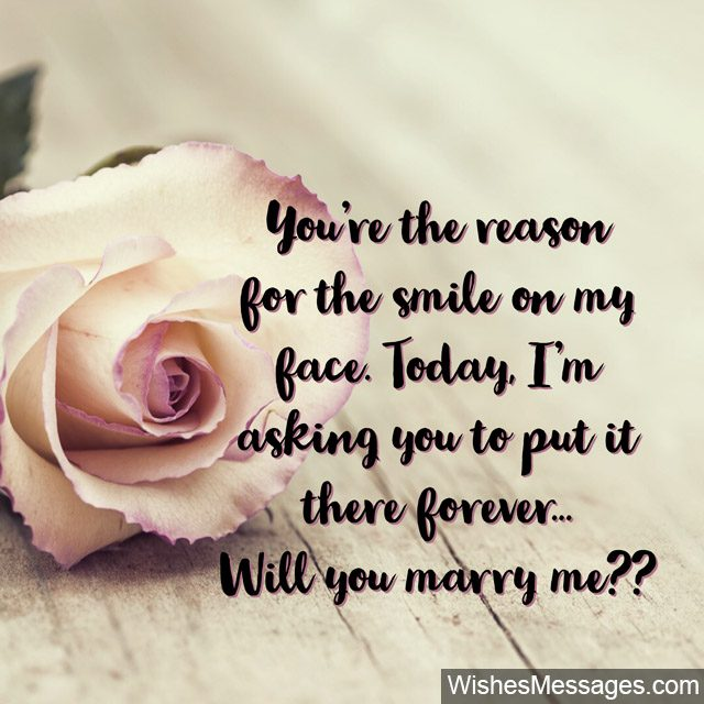 Will You Marry Me Quotes: Proposal Messages for Her ...