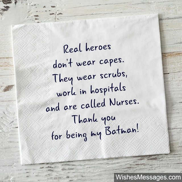 Thank You Notes for Nurses: Quotes and Messages to say