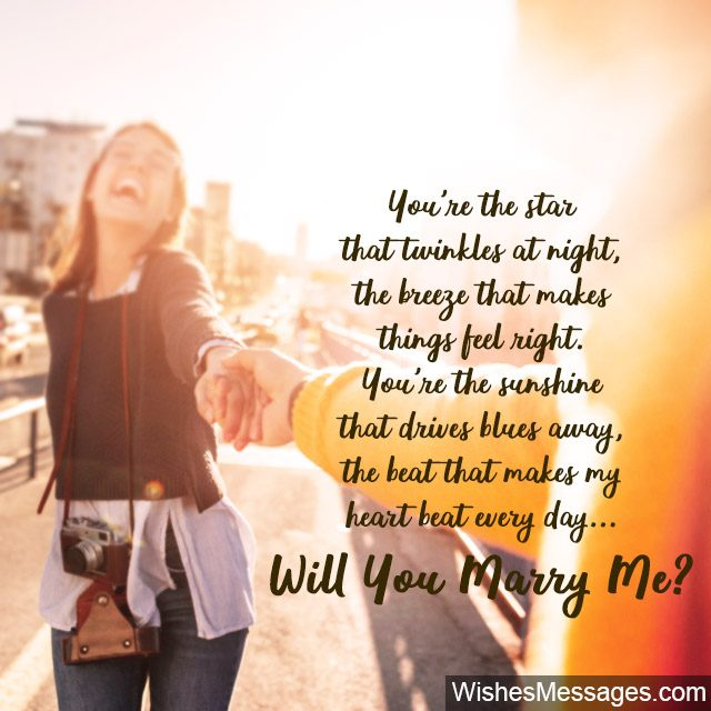 Will You Marry Me Quotes Proposal Messages For Him Wishesmessagescom